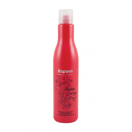 Шампунь с биотином для укрепления и стимуляции роста волос 250 мл.