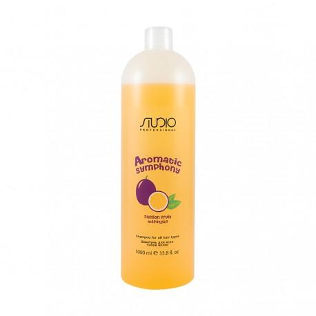 """Шампунь для Всех Типов Волос """"Маракуйя"""" для частого использования 1000 мл."""