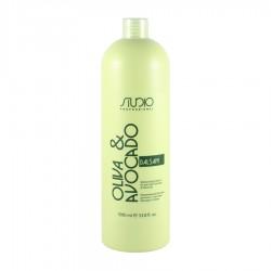 Бальзам увлажняющий для волос с маслами Авокадо и Оливы, 1000мл.