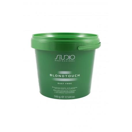 Обесцвечивающий порошок для волос с экстрактом женьшеня и рисовыми протеинами «Dust Free» линии Studio Professional