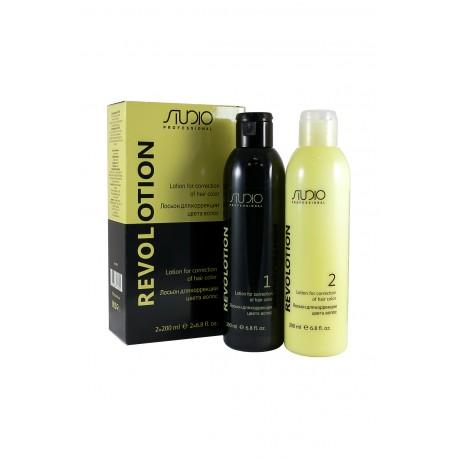 "Лосьон для коррекции цвета волос ""RevoLotion"" 200+200 мл."