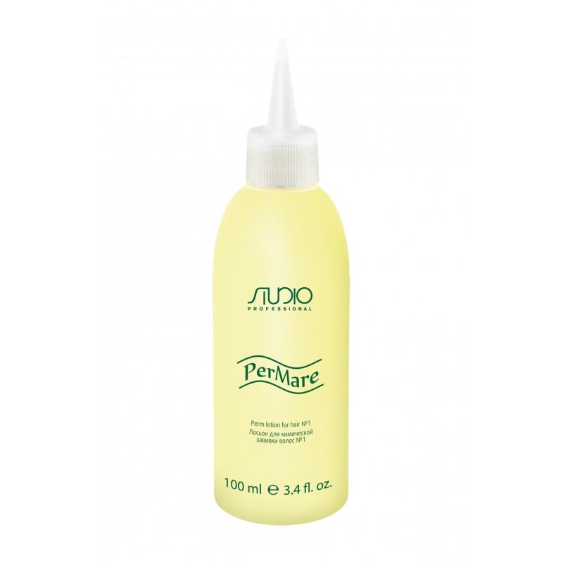 Лосьон 1 для химической завивки волос 100 мл. - Kapous Professional