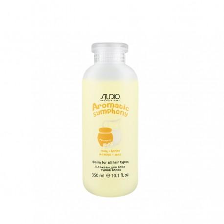 Бальзам для всех типов волос «Молоко и мед», 350 мл