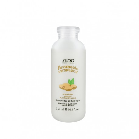 Шампунь для всех типов волос «Молочко миндального ореха», 350 мл