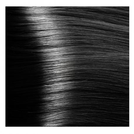 HY 1.0 Черный, крем-краска для волос «Hyaluronic acid» 100 мл