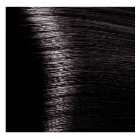 HY 4.81 Коричневый какао пепельный, крем-краска для волос «Hyaluronic acid» 100 мл