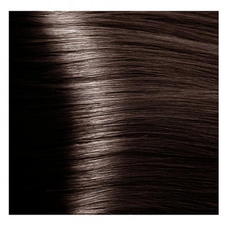 HY 5.81 Светлый коричневый шоколадно-пепельный, крем-краска для волос «Hyaluronic acid» 100 мл