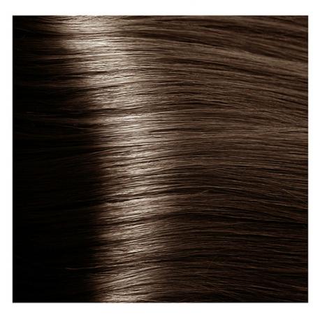 HY 6.81 Темный блондин капучино пепельный, крем-краска для волос «Hyaluronic acid» 100 мл