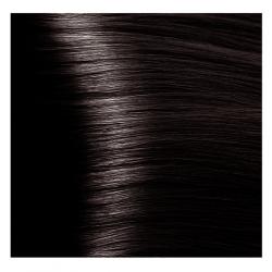 HY 4.84 Коричневый брауни, крем-краска для волос «Hyaluronic acid» 100 мл