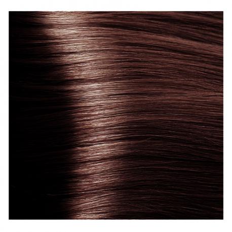 HY 6.45 Темный блондин медный махагоновый, крем-краска для волос «Hyaluronic acid» 100 мл