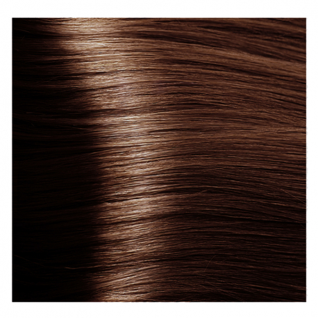 HY 5.43 Светлый коричневый медный золотистый, крем-краска для волос «Hyaluronic acid» 100 мл