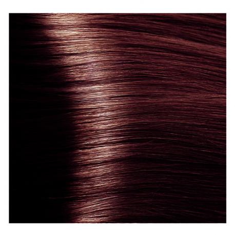 HY 4.5 Коричневый махагоновый, крем-краска для волос «Hyaluronic acid» 100 мл