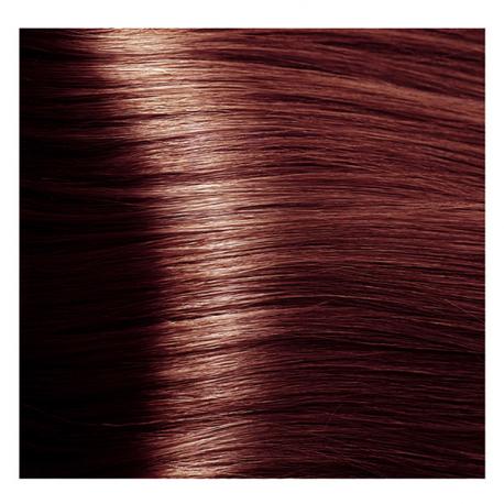 HY 5.5 Светлый коричневый махагоновый, крем-краска для волос «Hyaluronic acid» 100 мл