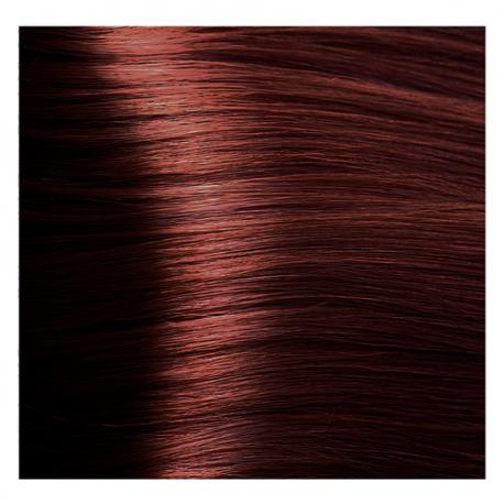 HY 6.6 Темный блондин красный, крем-краска для волос «Hyaluronic acid» 100 мл