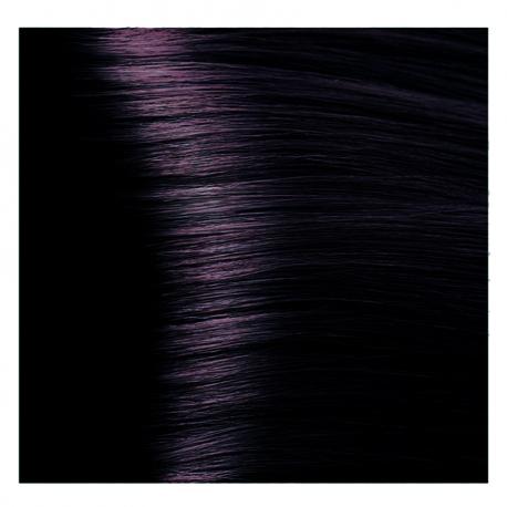 HY 1.2 Черный фиолетовый, крем-краска для волос «Hyaluronic acid» 100 мл