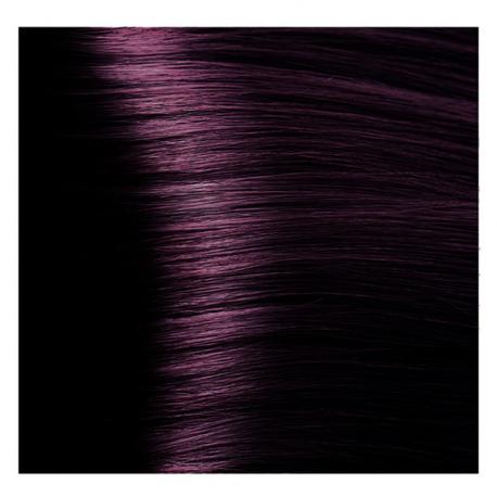 HY 4.2 Коричневый фиолетовый, крем-краска для волос «Hyaluronic acid» 100 мл