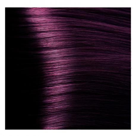 HY 6.2 Темный блондин фиолетовый, крем-краска для волос «Hyaluronic acid» 100 мл