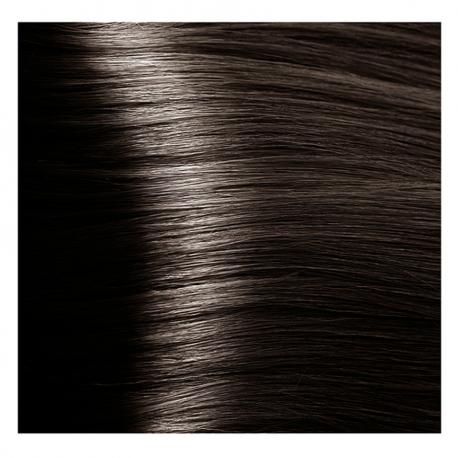 HY 5.07 Светлый коричневый натуральный холодный, крем-краска для волос «Hyaluronic acid» 100 мл