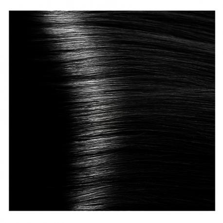 HY 1.00 Черный интенсивный, крем-краска для волос «Hyaluronic acid» 100 мл