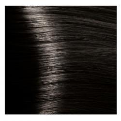 HY 4.00 Коричневый интенсивный, крем-краска для волос «Hyaluronic acid» 100 мл