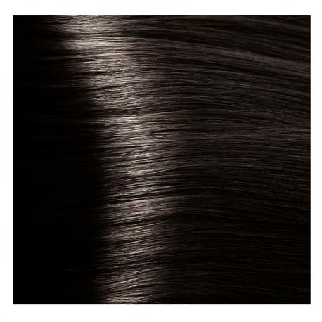 HY 4.12 Коричневый табачный, крем-краска для волос «Hyaluronic acid» 100 мл