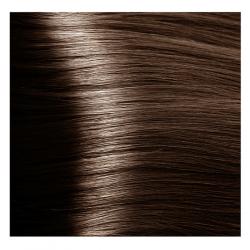 NA 6.07 темный блондин натуральный холодный, крем-краска для волос с кератином «Non Ammonia», 100 мл