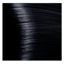 NA 1.1 иссиня-черный, крем-краска для волос с кератином «Non Ammonia», 100 мл