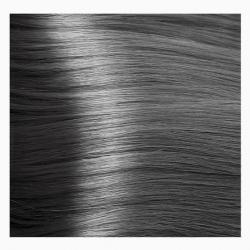 NA 6.011 темный блондин прозрачный пепельный, крем-краска для волос с кератином «Non Ammonia», 100 мл