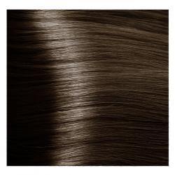 NA 6.11 темный блондин интенсивный пепельный, крем-краска для волос с кератином «Non Ammonia», 100 мл