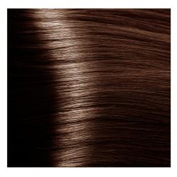NA 6.35 темный блондин каштановый золотистый, крем-краска для волос с кератином «Non Ammonia», 100 мл