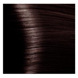 NA 4.45 коричневый медный махагоновый, крем-краска для волос с кератином «Non Ammonia», 100 мл