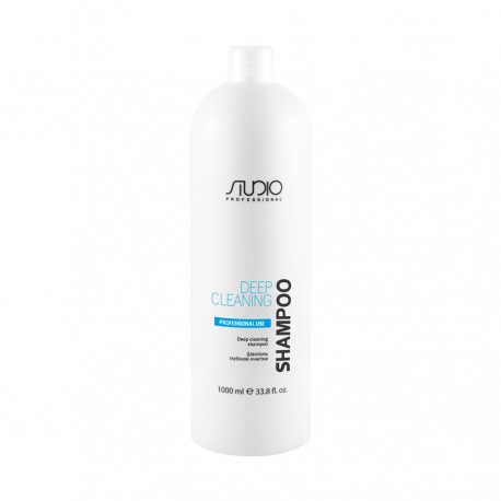Шампунь глубокой очистки для всех типов волос Studio , 1000мл.