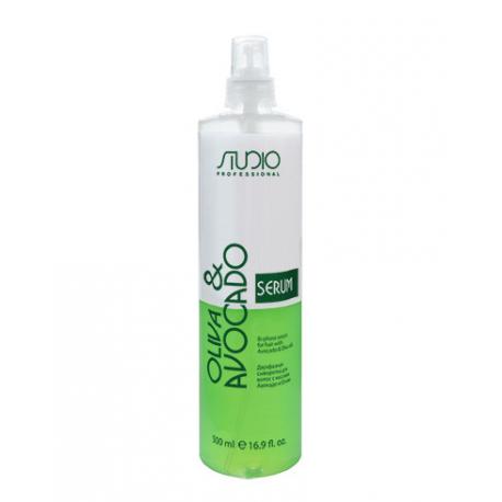 Двухфазная сыворотка для волос с маслами Авокадо и Оливы, 500 мл