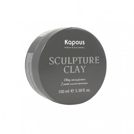 """Глина для укладки волос нормальной фиксации 100 мл. «Sculpture Clay» серии """"Styling"""""""