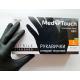 Перчатки нитриловые неопудреные MedTouch Черные р-р L