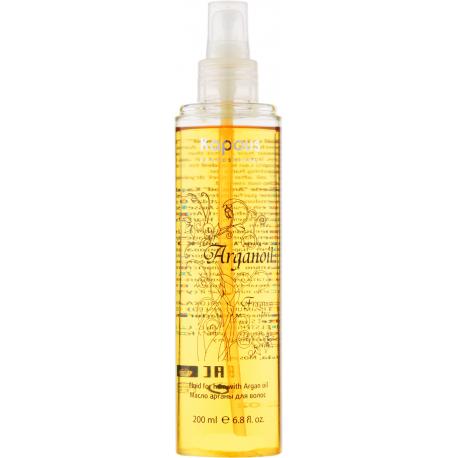 Лицевая сторона Масло арганы для всех типов волос 200 мл.