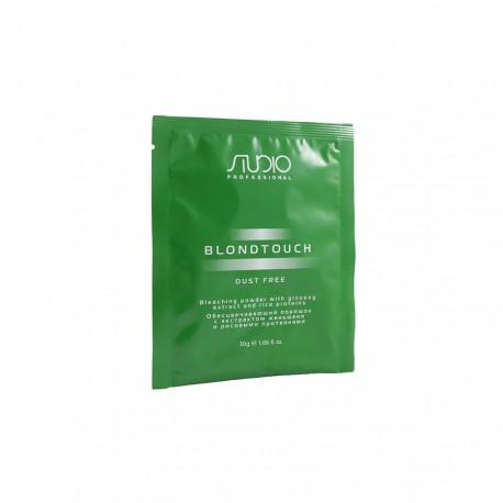 Обесцвечивающий порошок для волос с экстрактом женьшеня и рисовыми протеинами «Dust Free» линии Studio Professional 30 гр.
