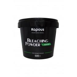 Осветляющий порошок «Bleaching Powder» с ментолом (зеленый порошок) 500 гр.