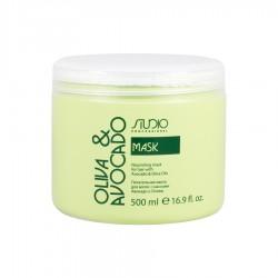 Маска питательная для волос с маслами Авокадо и Оливы 500 мл.