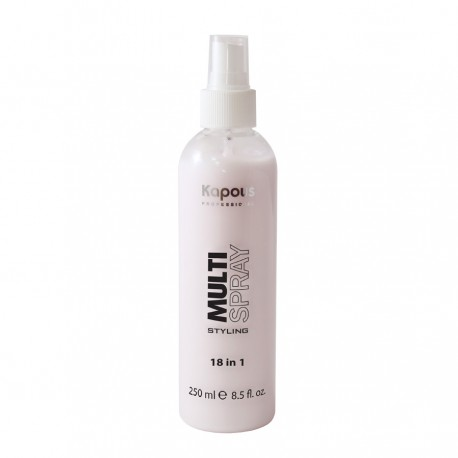 Мультиспрей для укладки волос 18 в 1 «Multi Spray» 250 мл.