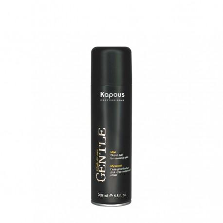 Мужской гель для бритья для чувствительной кожи с охложлдающим эфектом 200 мл.