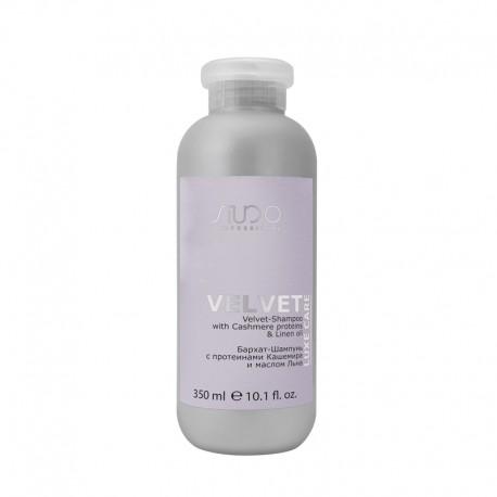 """Бархат-Шампунь с протеинами кашемира и маслом льна серии """"Luxe Care"""", 350 мл"""