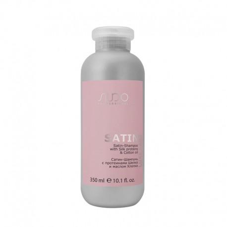 "Сатин-Шампунь с протеинами шелка и маслом хлопка серии ""Luxe Care"", 350 мл"